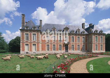 CASTLE OF FRANCE PICARDY Fayel - Stock Photo