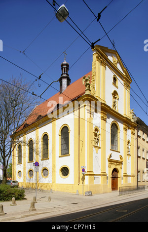 St Anne's Church, Wyspa Piasek, Wroclaw, or Breslau, Poland. - Stock Photo