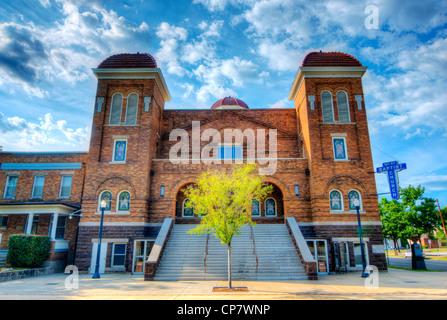 Historic 16th Street Baptist Church in Birmingham, Alabama, USA. - Stock Photo