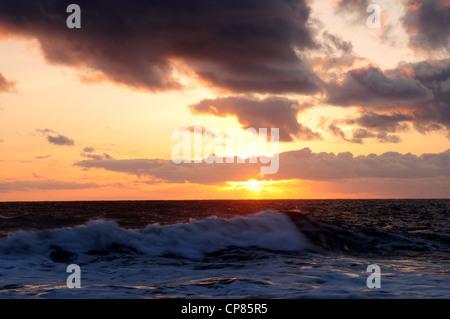Thornwick Bay Flamborough Head East Coast Yorkshire England. - Stock Photo