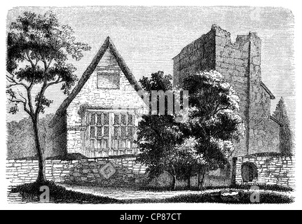 The home of Lady Jane Grey, 1536 - 1554, briefly Queen of England, nicknamed Nine Days Queen or Queen of thirteen - Stock Photo