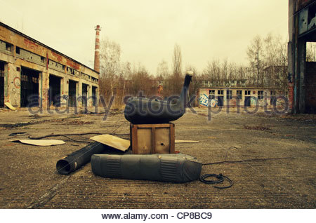 Junk (former Red Army garrison town) - Stock Photo