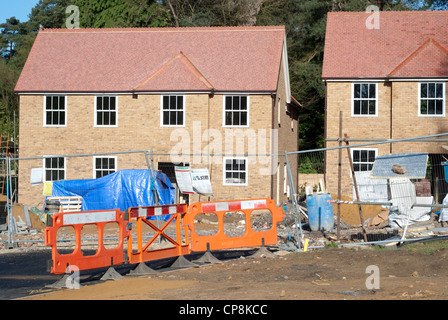 New houses being built in Hindhead, Surrey, following the opening of the Hindhead Tunnel - Stock Photo