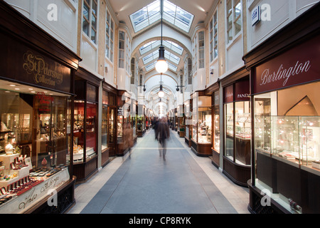 Burlington Arcade Piccadilly London - Stock Photo