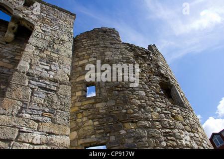 Watergate Ruins in Southampton - Stock Photo