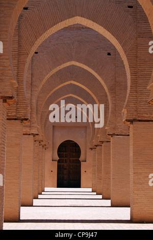 Tinmel mosque Atlas mountains Morocco - Stock Photo