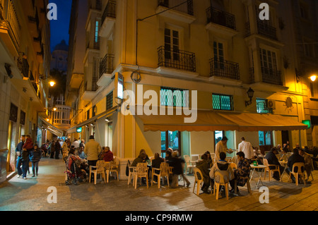Casa Aranda cafe exterior central Malaga Andalusia Spain Europe - Stock Photo