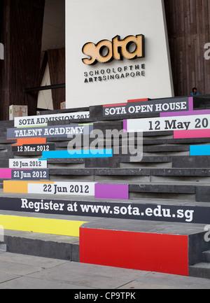 SOTA, school of the arts... - Stock Photo