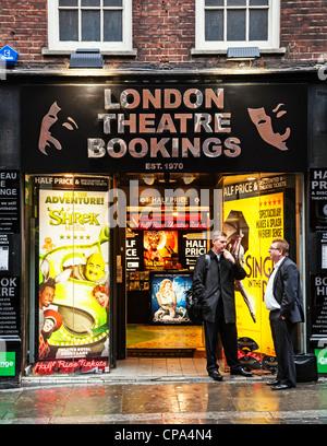 London Theatre Bookings, James Street, Covent Garden, London, England - Stock Photo