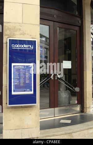 Brixton Academy main entrance by day nobody - Stock Photo