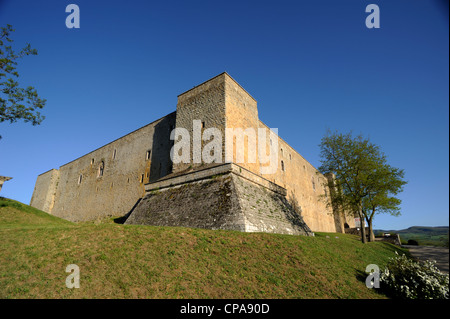 italy, basilicata, castel lagopesole, norman castle - Stock Photo