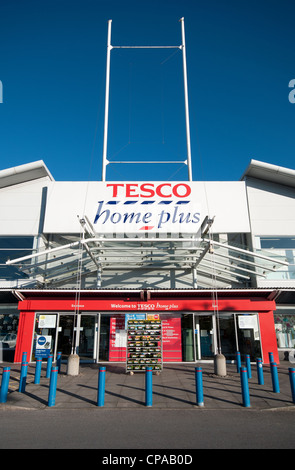 Tesco home plus store at the WestQuay shopping centre, Southampton, Hampshire, England - Stock Photo