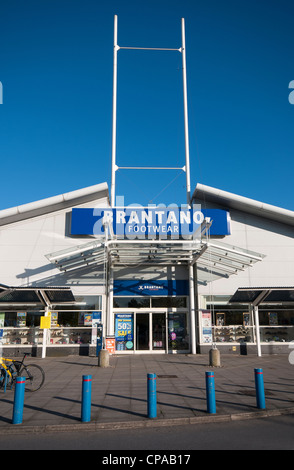 Brantano footwear store at the WestQuay shopping centre, Southampton, Hampshire, England - Stock Photo
