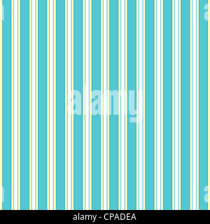 Vertical stripes pattern in blue, white and yellow - Stock Photo
