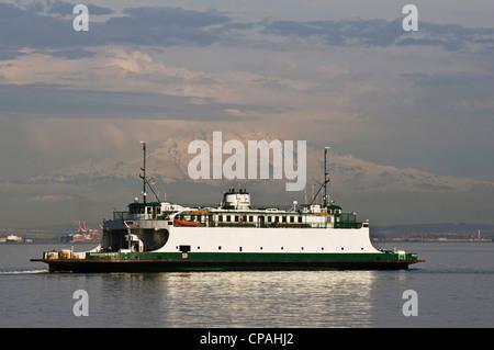 Vashon Island Ferry From Point Defiance