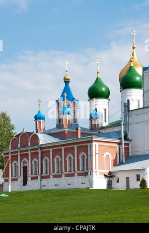Russian churches in Kolomna. Moscow region, Russia - Stock Photo