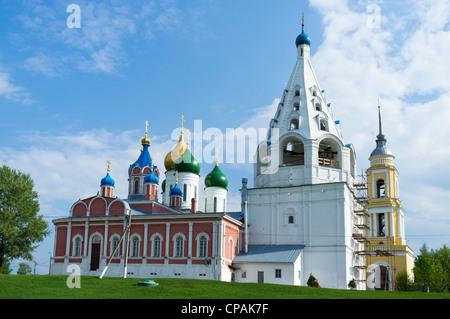 Russian churches in Kolomna. Russia - Stock Photo