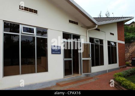 Genocide Archive building at the Kigali Memorial Centre at Kigali, Rwanda. - Stock Photo