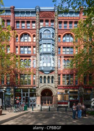 Pioneer Building, Seattle - Stock Photo