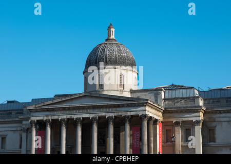 National Gallery London, England. - Stock Photo