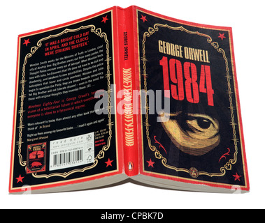 1984 by George Orwell - Stock Photo
