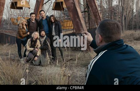 CHERNOBYL DIARIES  2012 Warner Bros film - Stock Photo