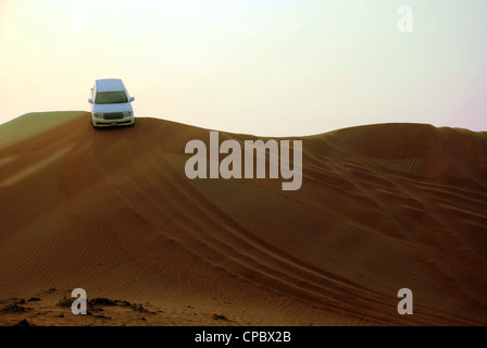 Desert Safari Dubai (Dune bashing) - Stock Photo