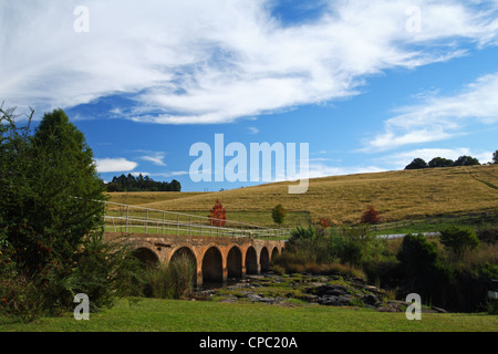 View from Caversham Mill, Midlands Meander, Kwazulu Natal, South Africa - Stock Photo