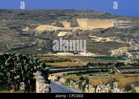 Limestone Quarry - Gozo, Malta Stock Image - Image of ...   Gozo Limestone