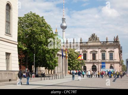 Unter den Linden, Berlin, Germany - Stock Photo