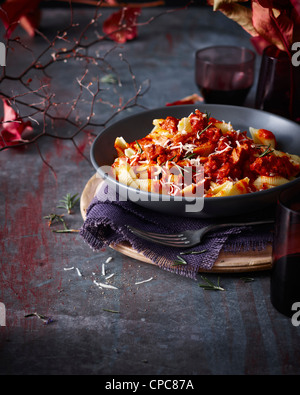 Close up of bowl of cafe sopra - Stock Photo