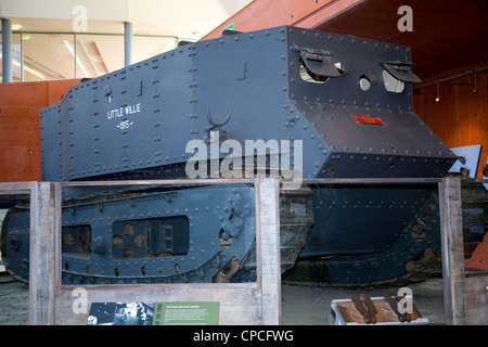 First World War Number 1 Lincoln machine. Tank was a prototype development vehicle in WWI The Tank Museum, Bovington - Stock Photo