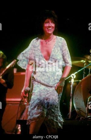 JEFFERSON STARSHIP US rock group about 1975 with Grace Slick - Stock Photo