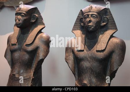 King Sesestris III, British Museum, London, England, United Kingdom, Europe - Stock Photo