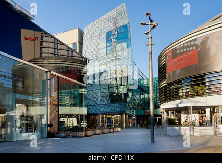 Westfield shopping centre, Stratford, London, England, United Kingdom, Europe - Stock Photo