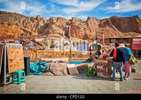 Market in Sharm El Sheikh, Egypt, North Africa, Africa - Stock Photo
