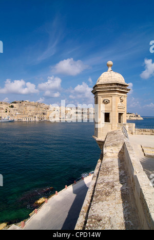 Fort St. Michael, Senglea, Grand Harbour, Valletta, Malta, Mediterranean, Europe - Stock Photo