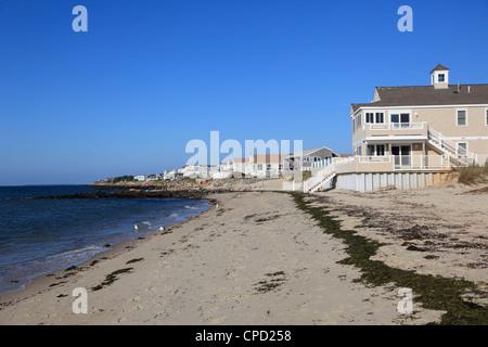 Dennisport (Dennis Port), Nantucket Sound, Dennis, Cape Cod, Massachusetts, New England, United States of America, - Stock Photo