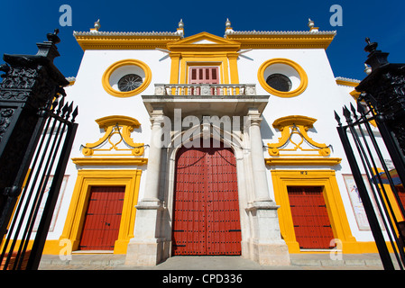 Seville, Plaza de Toros de la Maestranza - Stock Photo