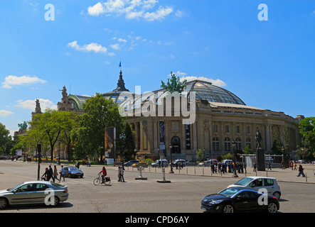 Grand Palais, Paris. Exhibition Hall built for the Exhibition of 1900. - Stock Photo