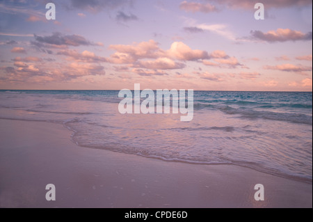 Clouds At Sunset Over Pink Sands Beach Harbour Island Eleuthera The Bahamas