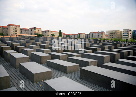 Holocaust Monument, Berlin, Germany, Europe - Stock Photo