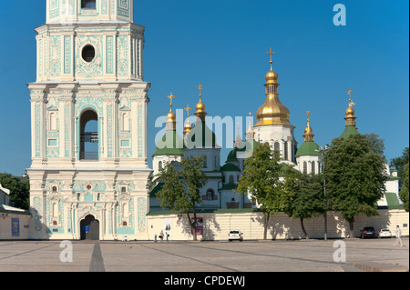 Sofia Square, Kiev, Ukraine, Europe - Stock Photo