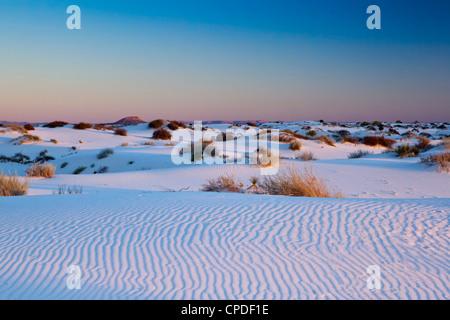 White Sands National Monument, New Mexico, United States of America, North America - Stock Photo