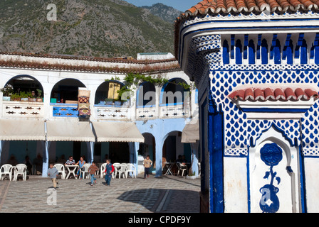 Chefchaouen (Chaouen), Tangeri-Tetouan Region, Rif Mountains, Morocco, North Africa, Africa - Stock Photo