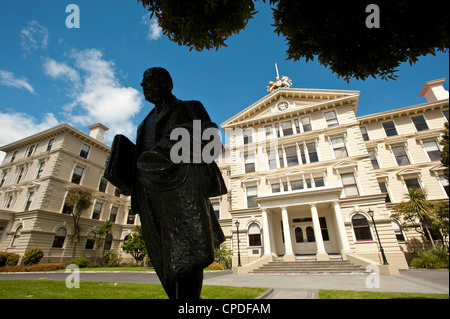 Government buildings, Wellington, North Island, New Zealand, Pacific - Stock Photo