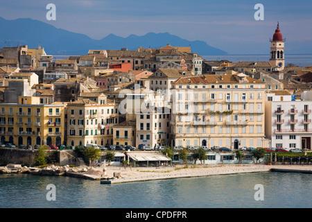 Old Town, Corfu, Ionian Islands, Greek Islands, Greece, Europe - Stock Photo