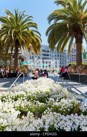 Union Square, Downtown, San Francisco, California, United States of America, North America - Stock Photo