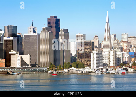 Downtown city skyline, San Francisco, California, United States of America, North America - Stock Photo