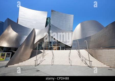 Walt Disney Concert Hall, Los Angeles, California, United States of America, North America - Stock Photo